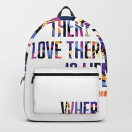 Gandhi at Peace - Legends of the Fall  Backpack
