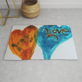 Love duo | Duo d'amour Rug