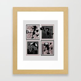 Game and Watch Framed Art Print
