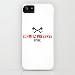 Schmitz Preserve Park iPhone Case