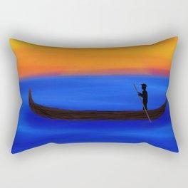 Gondola Ride Rectangular Pillow