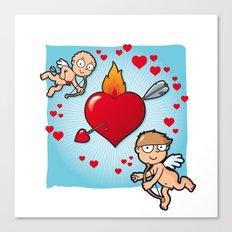 Cupid's dart Canvas Print