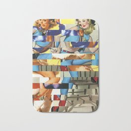 Glitch Pin-Up Redux: Yasmin & Yardley Bath Mat