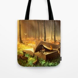 A safe place where you can go Tote Bag