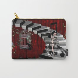 Dancing fairy on the piano Carry-All Pouch