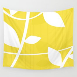 Vine in Yellow by Friztin Wall Tapestry