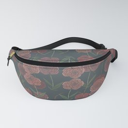 CONTINUOUS FLORAL Fanny Pack