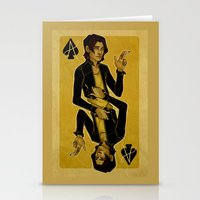 cargline Stationery Cards featuring Ace of Spades by cargline