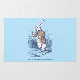The White Rabbit Rug