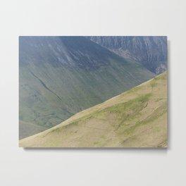 Hills Metal Print
