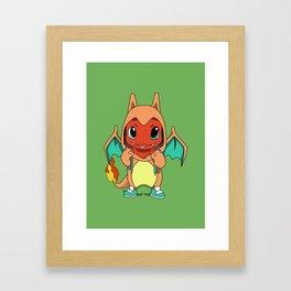 pocket monster Framed Art Print