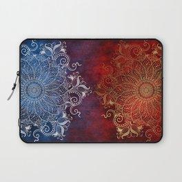 Mandala - Fire & Ice Laptop Sleeve