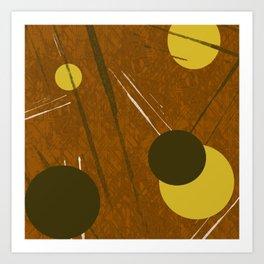 Dispersão Art Print