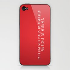 Places & People I've never met ♡ iPhone & iPod Skin