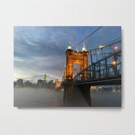 Roebling Sunset Metal Print