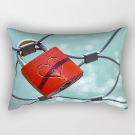 Salzburg Love Lock Rectangular Pillow