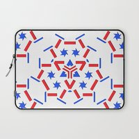 patriotic Laptop Sleeves featuring Patriotic by Robin Curtiss