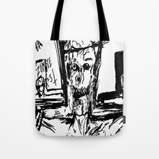 Zombie Christ Tote Bag