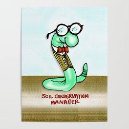 Soil Conservation Manager Poster