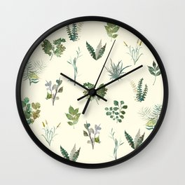 Spring Green Nature Wall Clock
