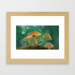 Frog Astair Framed Art Print