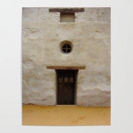Capistrano Mission Doorway Poster