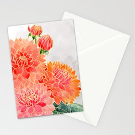 Pacey colorful bouquet Stationery Cards