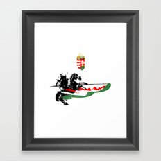 Hungarian Hussar Framed Art Print