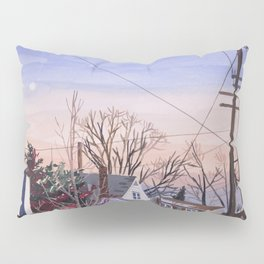 Sunset in NY Pillow Sham