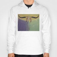 bull Hoodies featuring Bull by Michael Creese