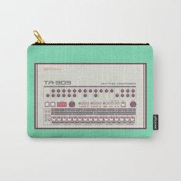 Roland TR-909 Rhythm Composer Vector Illustration Carry-All Pouch
