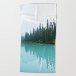 Hazy Days at Emerald Lake Beach Towel