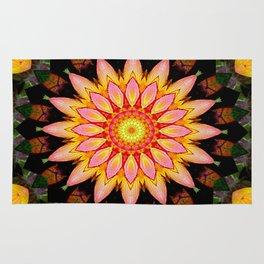 Kaleidoskop Blume Rug