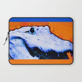 Gator Art - Swampy - Florida - Sharon Cummings Laptop Sleeve
