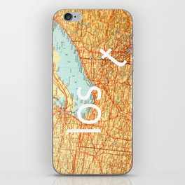 The Lost T iPhone Skin