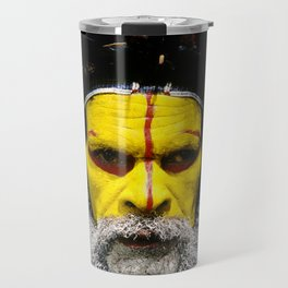 Papua New Guinea: Huli Wigman Travel Mug