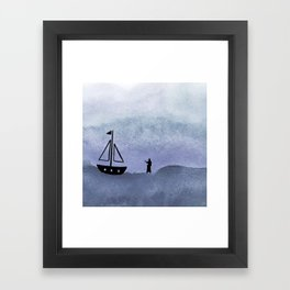 Walking on Water Framed Art Print