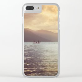 Lagoon Harmony Clear iPhone Case