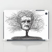edgar allen poe iPad Cases featuring Edgar Allan Poe, Poe Tree by Newmanart7 -- JT and Nancy Newman, Art a