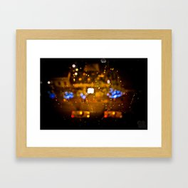 Water Taxi Framed Art Print