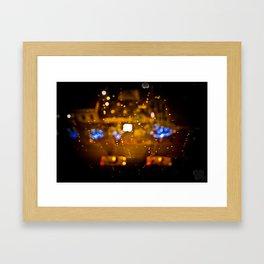 Water Taxi Framed Art Print