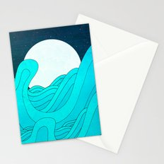 The Moon and the Sea Stationery Cards
