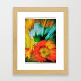 flowers for my love Framed Art Print