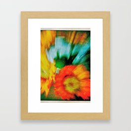 flowers for my love Framed Art Print