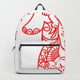 Buddhism Gift Religion Buddha Gautama Backpack