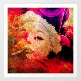 Le chic Parisien  Art Print