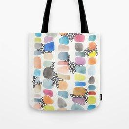 colorful stones Tote Bag