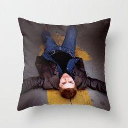 Demon Dean Winchester Throw Pillow