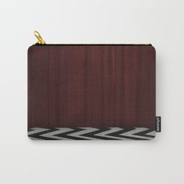 Black Lodge / Red Room Twin Peaks Carry-All Pouch