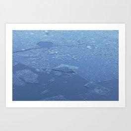 Frozen Chickadee Lake 3 Art Print